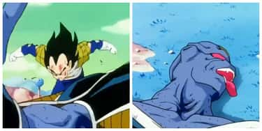 Burter is listed (or ranked) 6 on the list The 15 Most Brutal Vegeta Kills In Dragon Ball, Ranked