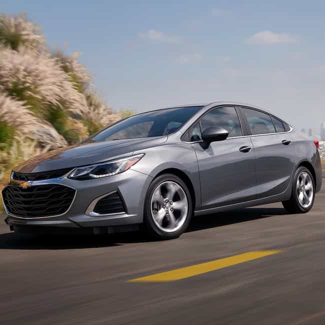 Chevrolet Cruze is listed (or ranked) 3 on the list The Best 2019 Cars Under $20,000