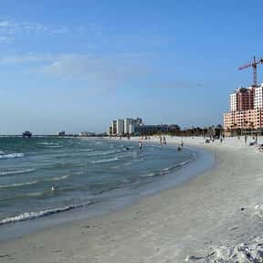 Clearwater Beach is listed (or ranked) 4 on the list The Best Beaches in Florida