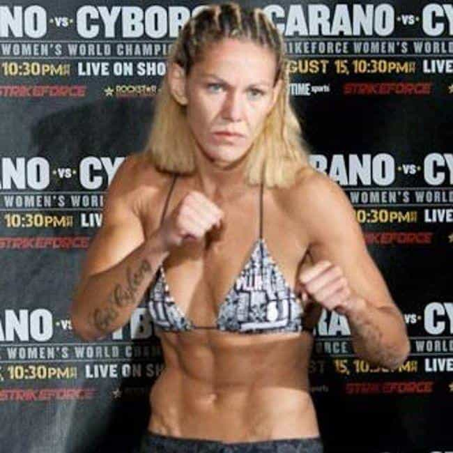 Cristiane Justino is listed (or ranked) 4 on the list The Top Female MMA Fighters