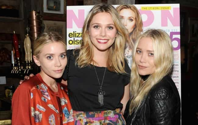 Elizabeth Olsen is listed (or ranked) 1 on the list Celebrities with Siblings Who Are Twins