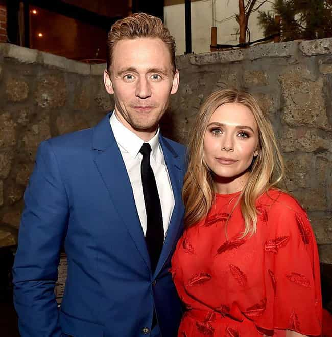 Elizabeth Olsen is listed (or ranked) 2 on the list Tom Hiddleston Loves and Hookups