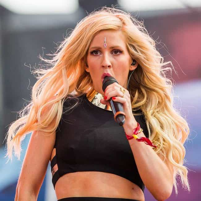 Ellie Goulding is listed (or ranked) 4 on the list 50+ Celebrities Who Have Almost Died