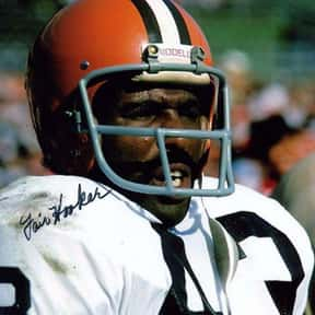 Fair Hooker is listed (or ranked) 25 on the list The Best Cleveland Browns Wide Receivers of All Time