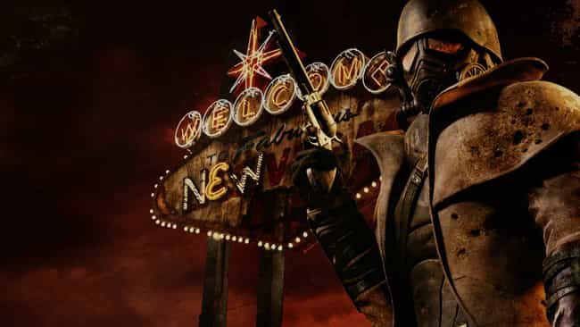 Fallout: New Vegas is listed (or ranked) 2 on the list Great Video Game Movies Waiting to Happen