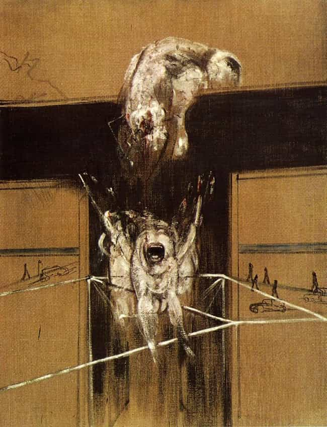 Fragment of a Crucifixio... is listed (or ranked) 4 on the list Famous Francis Bacon Paintings