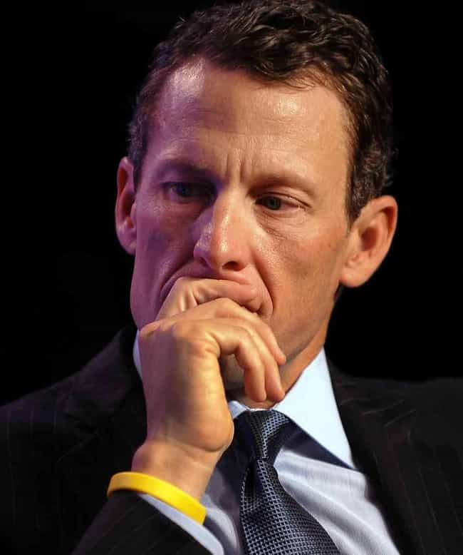 Lance Armstrong is listed (or ranked) 3 on the list 102 Athletes Who Failed Drug Tests