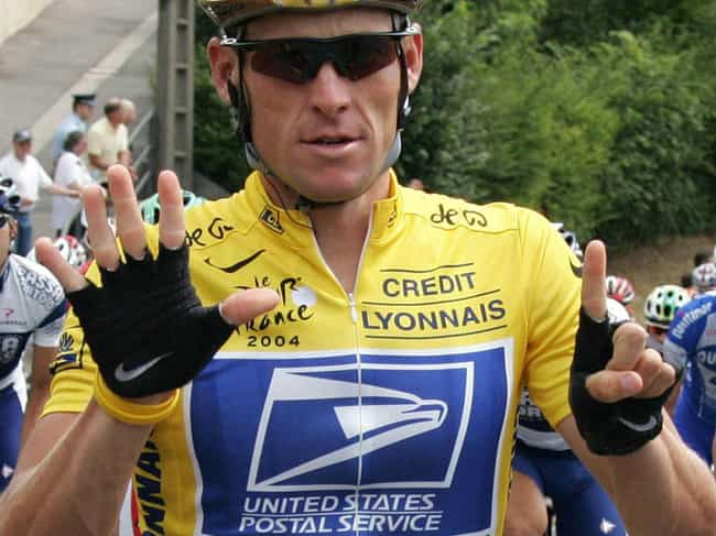 Lance Armstrong is listed (or ranked) 1 on the list 31 Athletes Who Survived Cancer