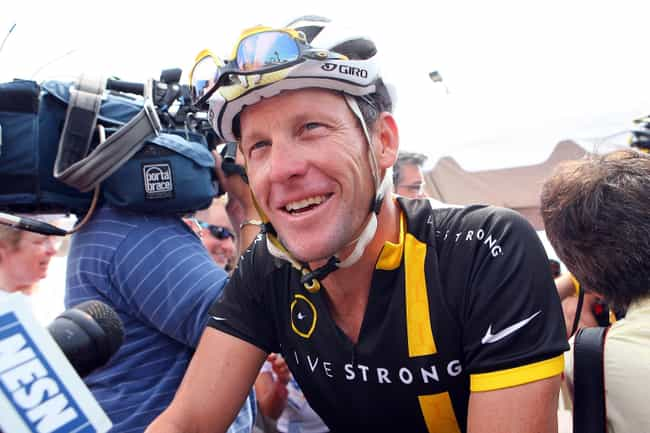 Lance Armstrong is listed (or ranked) 5 on the list The Most Drastic Falls From Grace Throughout History