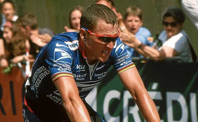 Lance Armstrong is listed (or ranked) 1 on the list 19 Famous Athletes Who Are Atheist