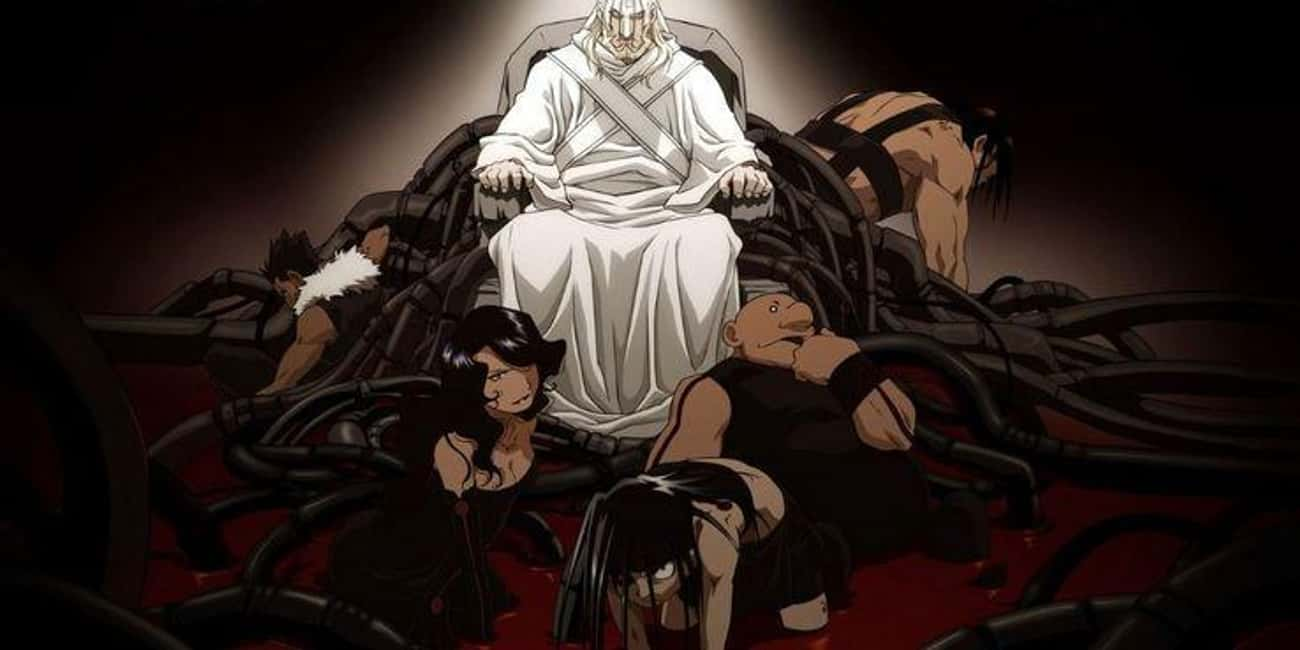 Father Created His Own Villain is listed (or ranked) 4 on the list Which Anime Has The Best Group of Villains?