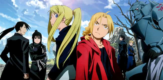 Fullmetal Alchemist: Brotherho... is listed (or ranked) 1 on the list All The Greatest Anime Made By Studio Bones