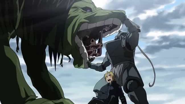 Fullmetal Alchemist: Brotherho... is listed (or ranked) 2 on the list Anime Series That Are Way Too Smart For Kids