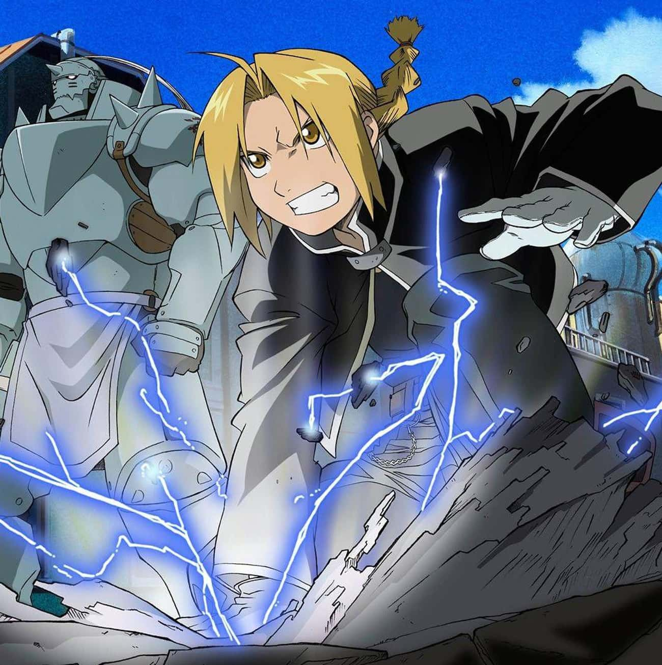 Alchemy - Fullmetal Alchemist is listed (or ranked) 4 on the list The 25+ Anime Superpowers You Want Most