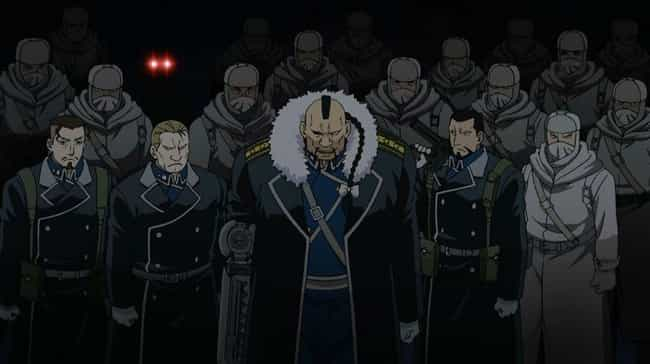 Fullmetal Alchemist: Bro... is listed (or ranked) 1 on the list 13 Anime Where the Government is the Villain