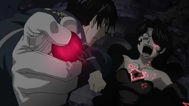 Fullmetal Alchemist: Brotherho... is listed (or ranked) 6 on the list 14 Anime Plot Twists That Left Your Jaw On The Floor