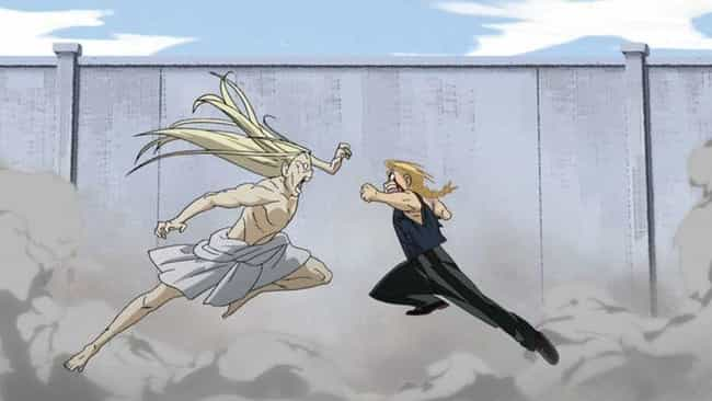 Fullmetal Alchemist: Brotherho... is listed (or ranked) 4 on the list The 14 Best 'Battle Royale' Moments in Anime History