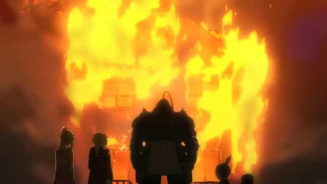 Fullmetal Alchemist: Brotherho... is listed (or ranked) 3 on the list 15 Anime Where A Character's Home Town Is Destroyed