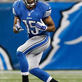 Golden Tate is listed (or ranked) 3 on the list The Best Detroit Lions Wide Receivers of All Time