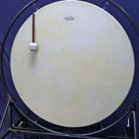 Gong bass drum is listed (or ranked) 19 on the list Instruments in the Percussion Family
