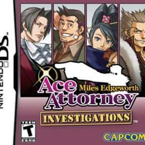Ace Attorney Investigations: M is listed (or ranked) 9 on the list The Best Ace Attorney Games