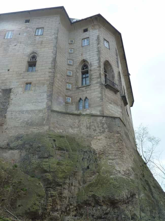 Houska Castle is listed (or ranked) 4 on the list 7 Places That Might Just Be Gateways to Hell
