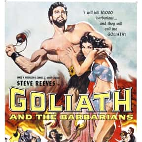 Goliath and the Barbarians is listed (or ranked) 23 on the list The Best Sword and Sandal Films Ever Made