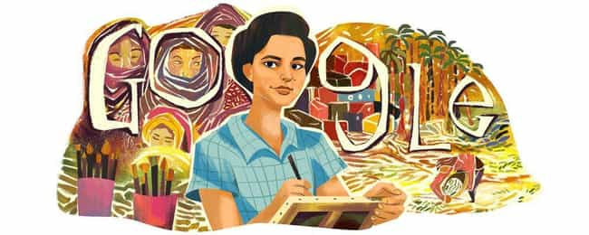 Inji Aflatoun is listed (or ranked) 1156 on the list Every Person Who Has Been Immortalized in a Google Doodle