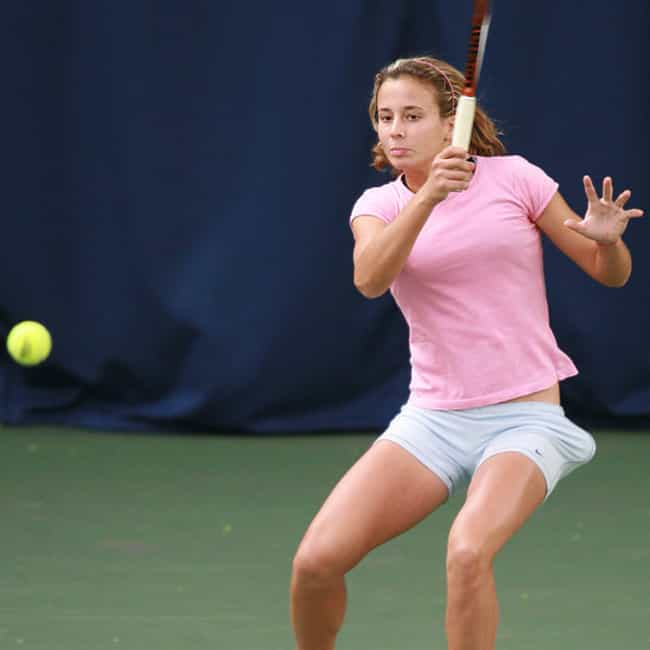 Eirini Georgatou is listed (or ranked) 4 on the list The Best Tennis Players from Greece