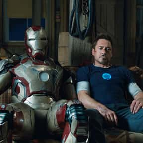 Iron Man 3 is listed (or ranked) 5 on the list The Best Iron Man Versions Of All Time