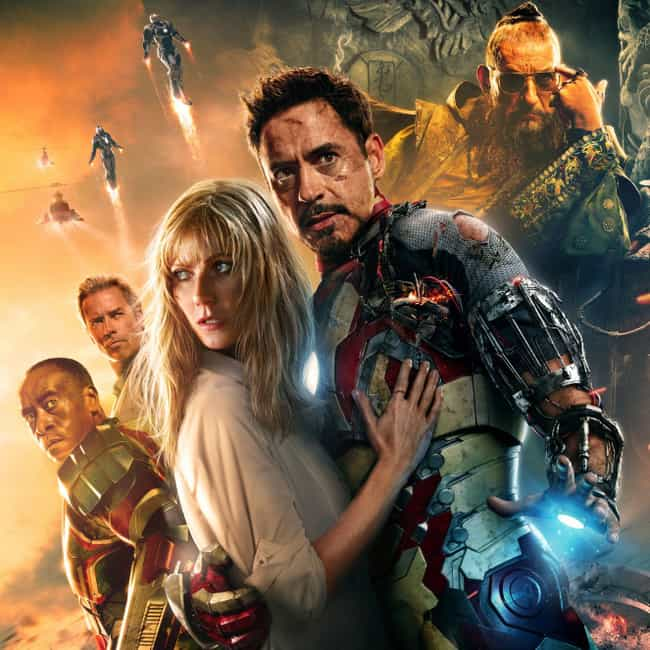 Iron Man 3 is listed (or ranked) 2 on the list Movies Written By Shane Black
