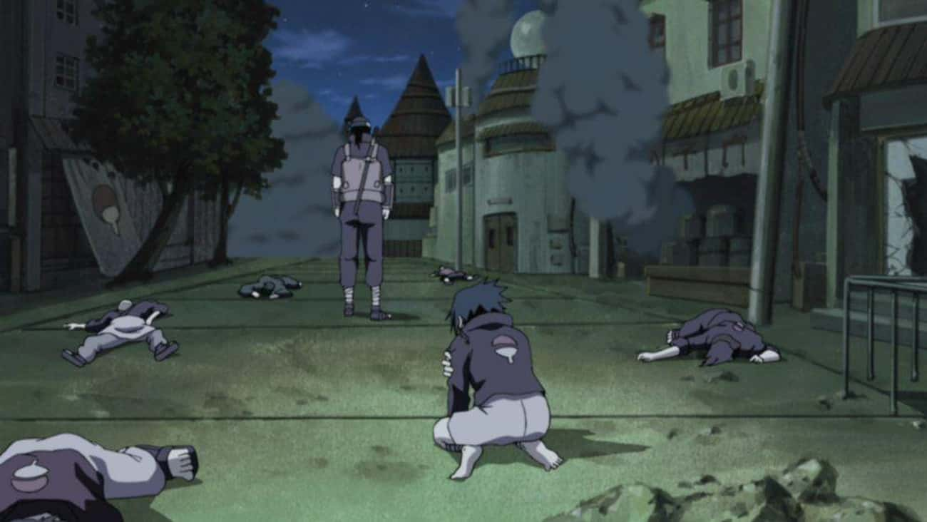 Itachi Uchiha Massacred His Cl is listed (or ranked) 1 on the list 22 Times Anime Characters Actually Killed Their Own Family