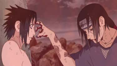 Itachi Uchiha - 'Naruto' is listed (or ranked) 1 on the list 13 Tragic Anime Heroes Who Are Hard Not To Pity