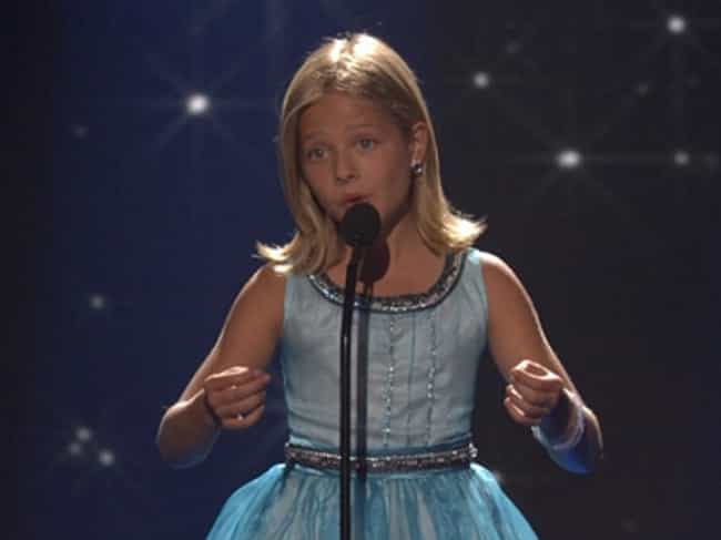 Jackie Evancho is listed (or ranked) 1 on the list The Best Celebrity Smiles (Women)