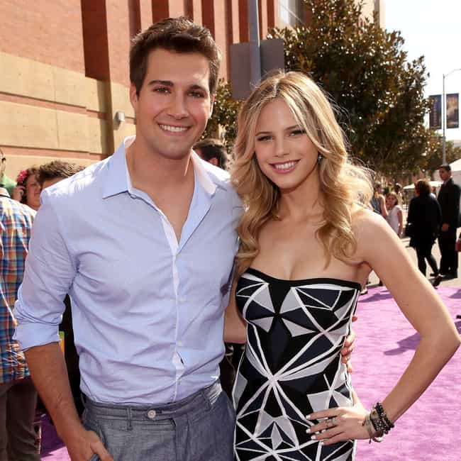 James Maslow is listed (or ranked) 4 on the list Halston Sage Loves and Hookups