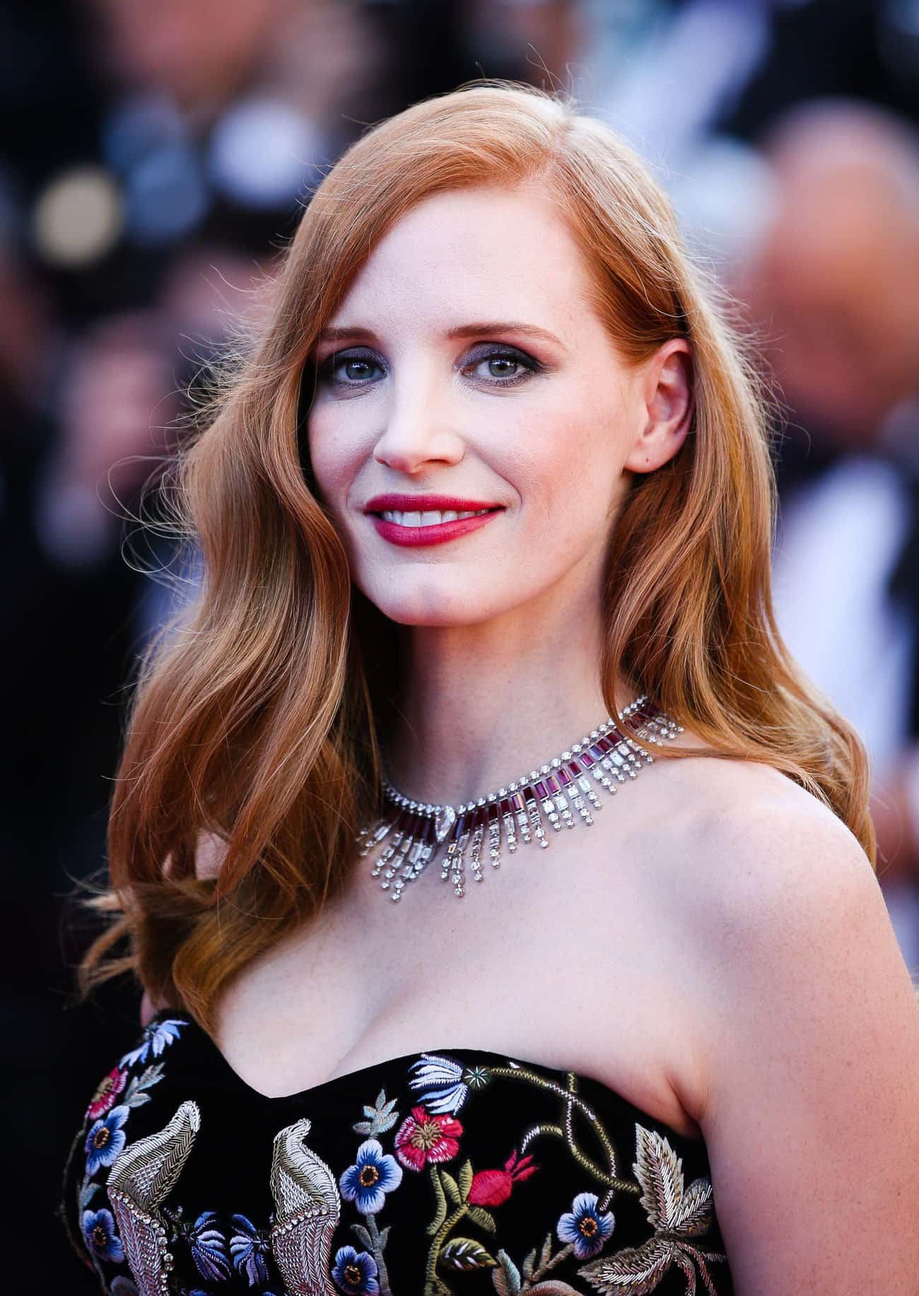 Jessica Chastain is listed (or ranked) 2 on the list 75+ Famous Actresses Who Are Aries