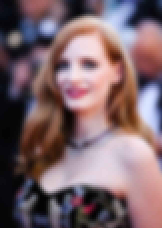 Jessica Chastain is listed (or ranked) 8 on the list The Hottest Red Head Actresses