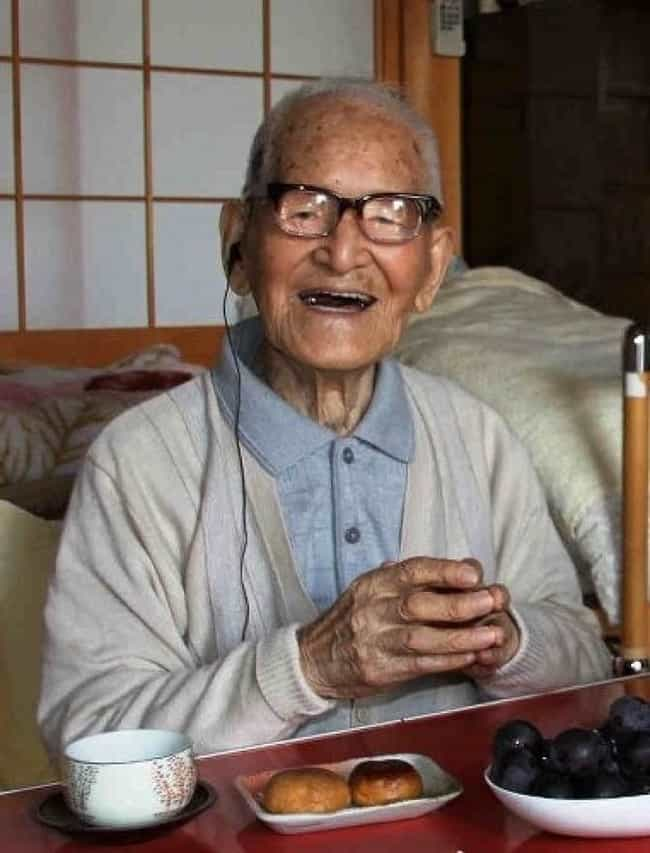 Jiroemon Kimura is listed (or ranked) 1 on the list List of Famous Mail Carriers