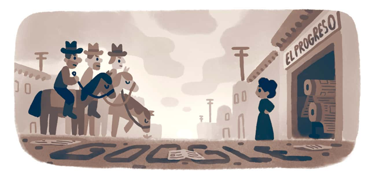 Jovita Idár is listed (or ranked) 1245 on the list Every Person Who Has Been Immortalized in a Google Doodle
