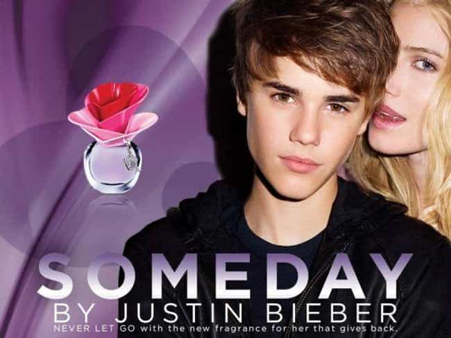 Justin Bieber is listed (or ranked) 4 on the list 20 of the Best Celebrity Perfume Scents