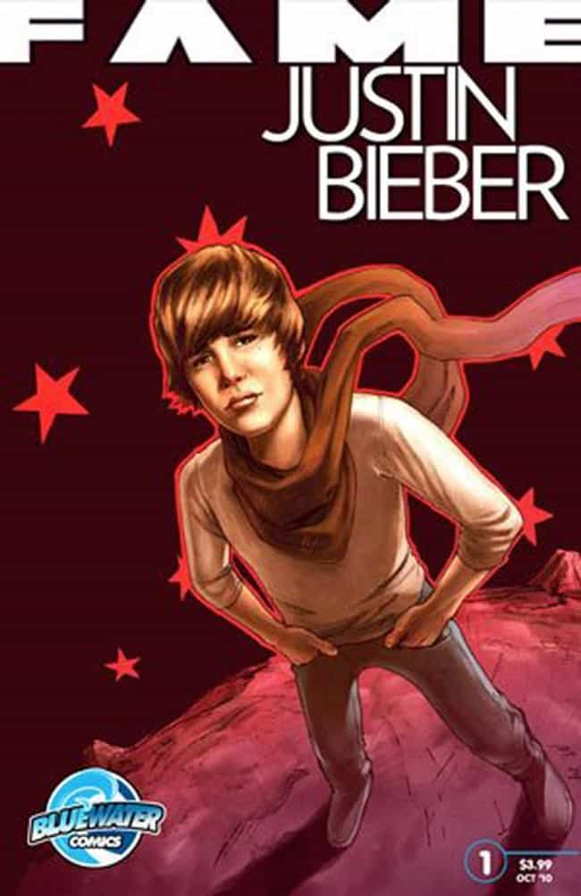 Justin Bieber is listed (or ranked) 3 on the list 50+ Celebrities Who Have Appeared in Comic Books