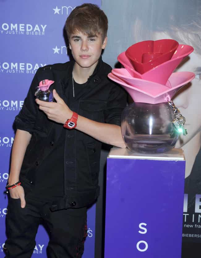 Justin Bieber is listed (or ranked) 4 on the list 43 of the Best Celebrity Perfume Scents