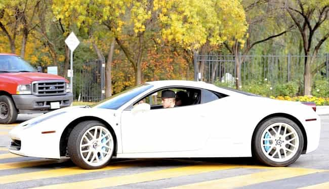 Justin Bieber is listed (or ranked) 4 on the list Famous People Who Own Ferraris