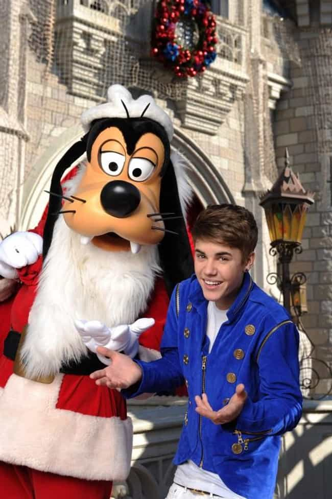 Justin Bieber is listed (or ranked) 1 on the list 55+ Celebrities Enjoying Themselves at Disneyland