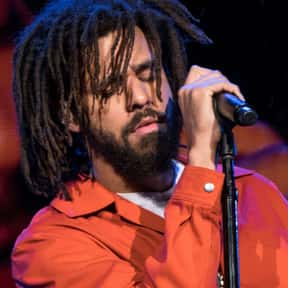 J. Cole is listed (or ranked) 7 on the list The Greatest Rappers Of All Time
