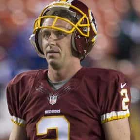 Kai Forbath is listed (or ranked) 5 on the list The Best Washington Redskins Kickers Of All Time