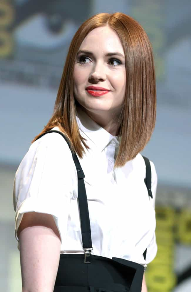 Karen Gillan is listed (or ranked) 2 on the list Casting Call for Mary Jane Watson