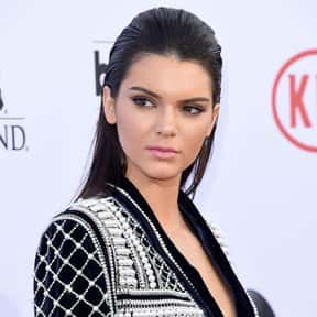 Kendall Jenner is listed (or ranked) 14 on the list Celebrities You're Sick Of In 2020