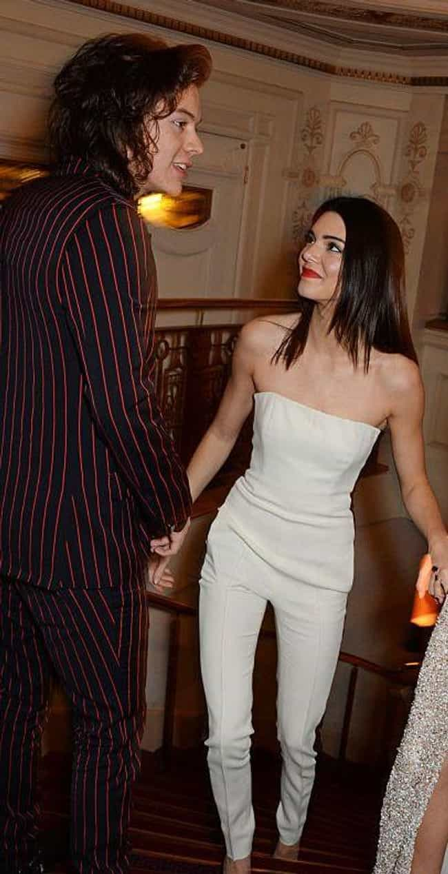 Kendall Jenner is listed (or ranked) 2 on the list Harry Styles Loves and Hookups