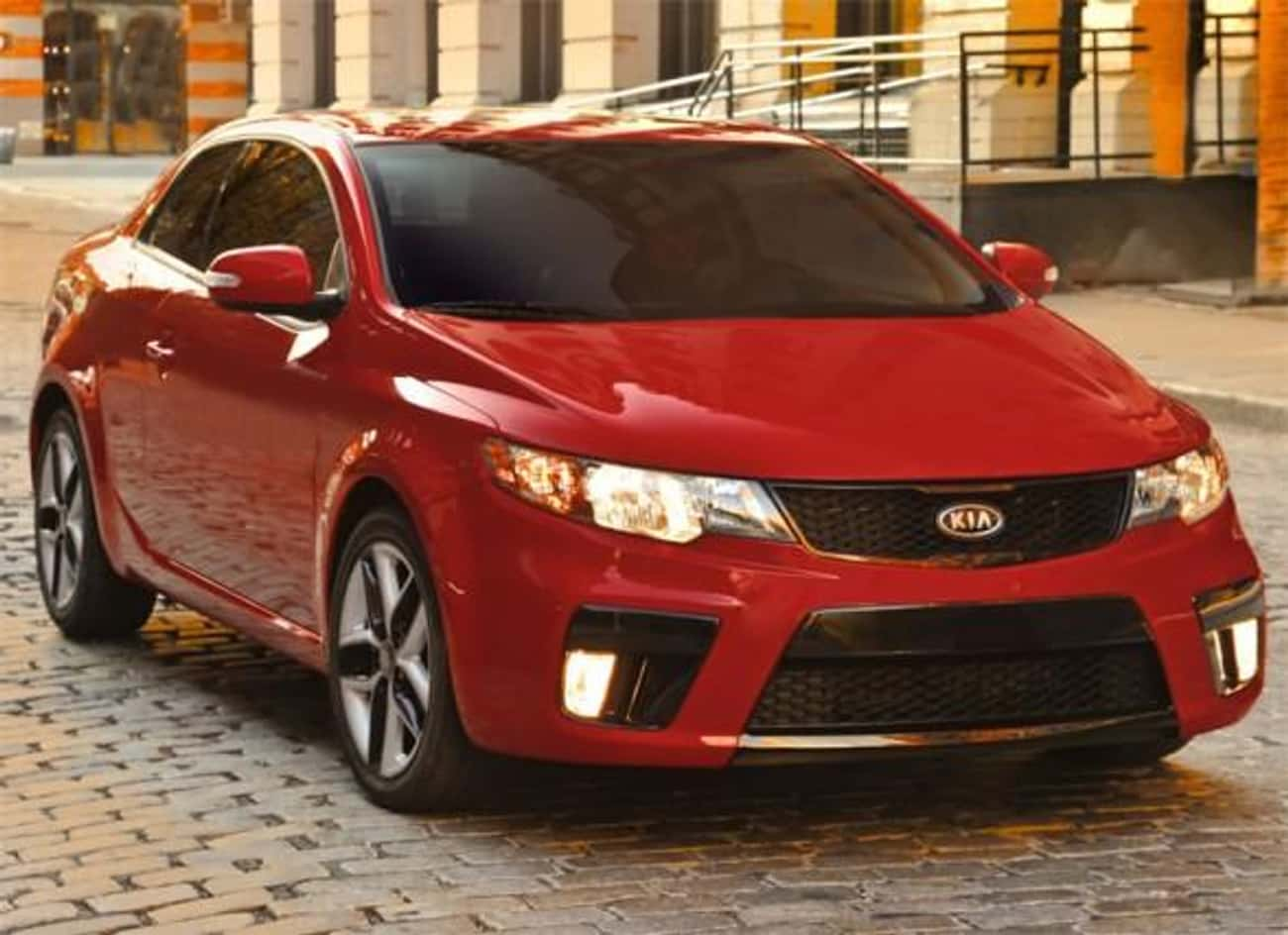 Kia Forte Koup is listed (or ranked) 4 on the list Sporty Cars With Good Gas Mileage